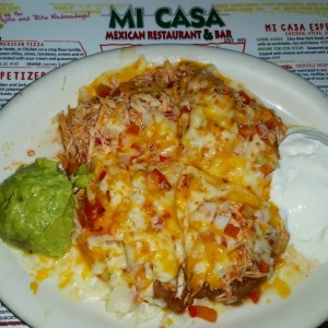 My Fave the Mexican Pizza - Mi Casa Mexican Restaurant Costa Mesa