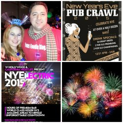 Orange County new year's eve, hollywood new year's eve, los angeles new year's eve parties