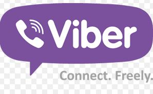 Viber phone application cal for free, text message for free
