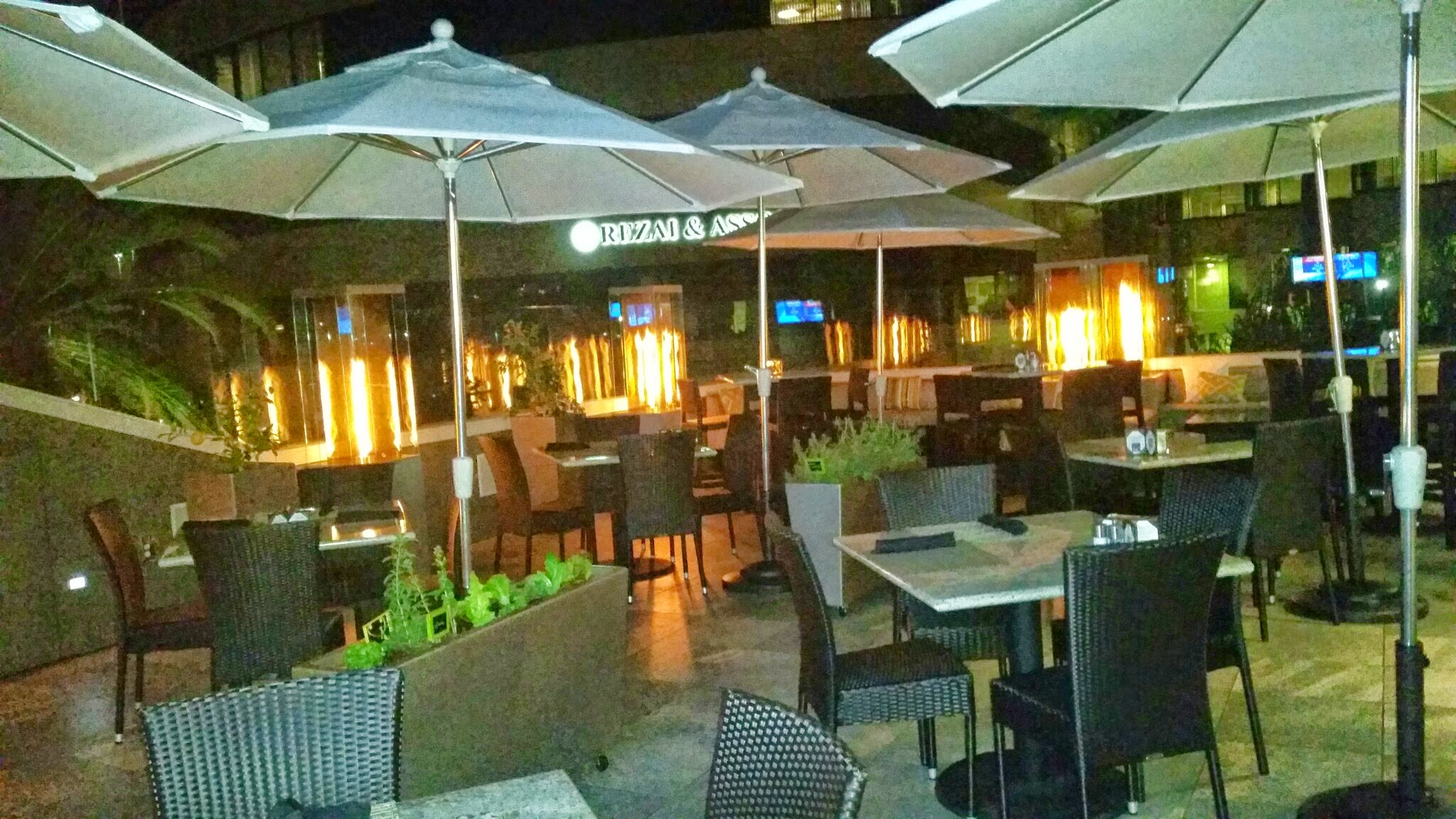 Outdoor Patio at Andrei s Conscious Cuisine – Dani s Decadent Deals