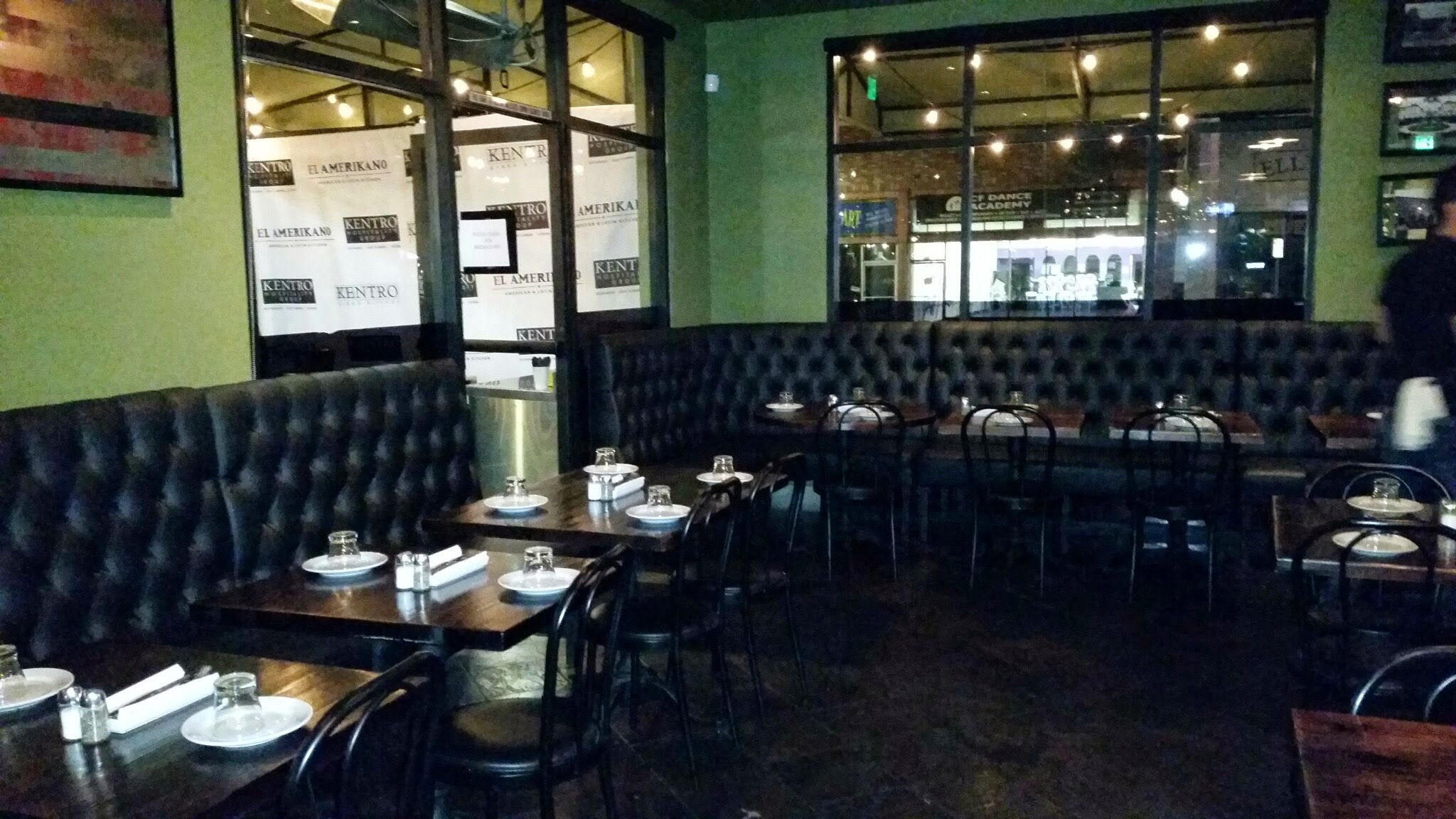 Dining Room El Amerikano American Cuisine With A Latin Flare In