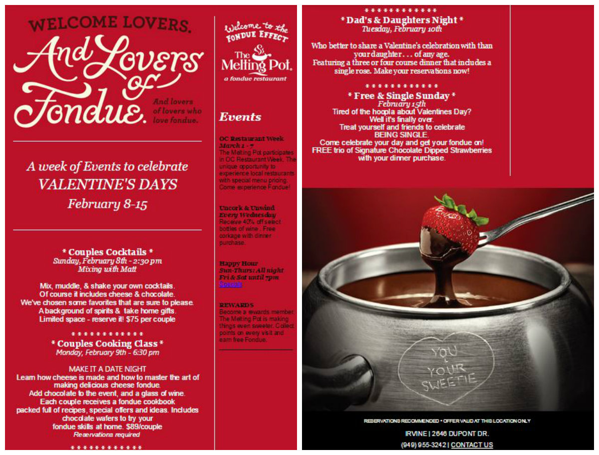 Valentine S Day Prix Fixe Menus Gift Ideas And Other Goodies For