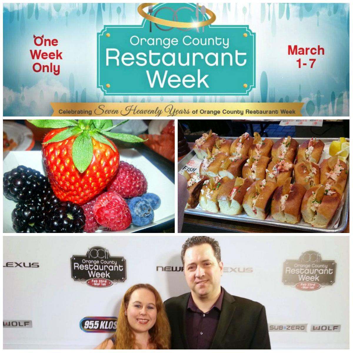 OC Restaurant week, Orange county restaurant week, prix fixe menus