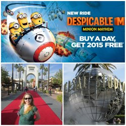 Buy One Day, Get a Year FREE at Universal Studios