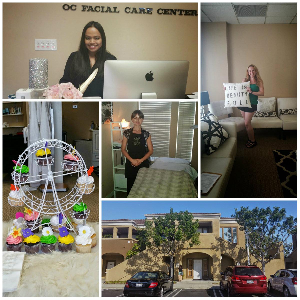 Facial care center in the