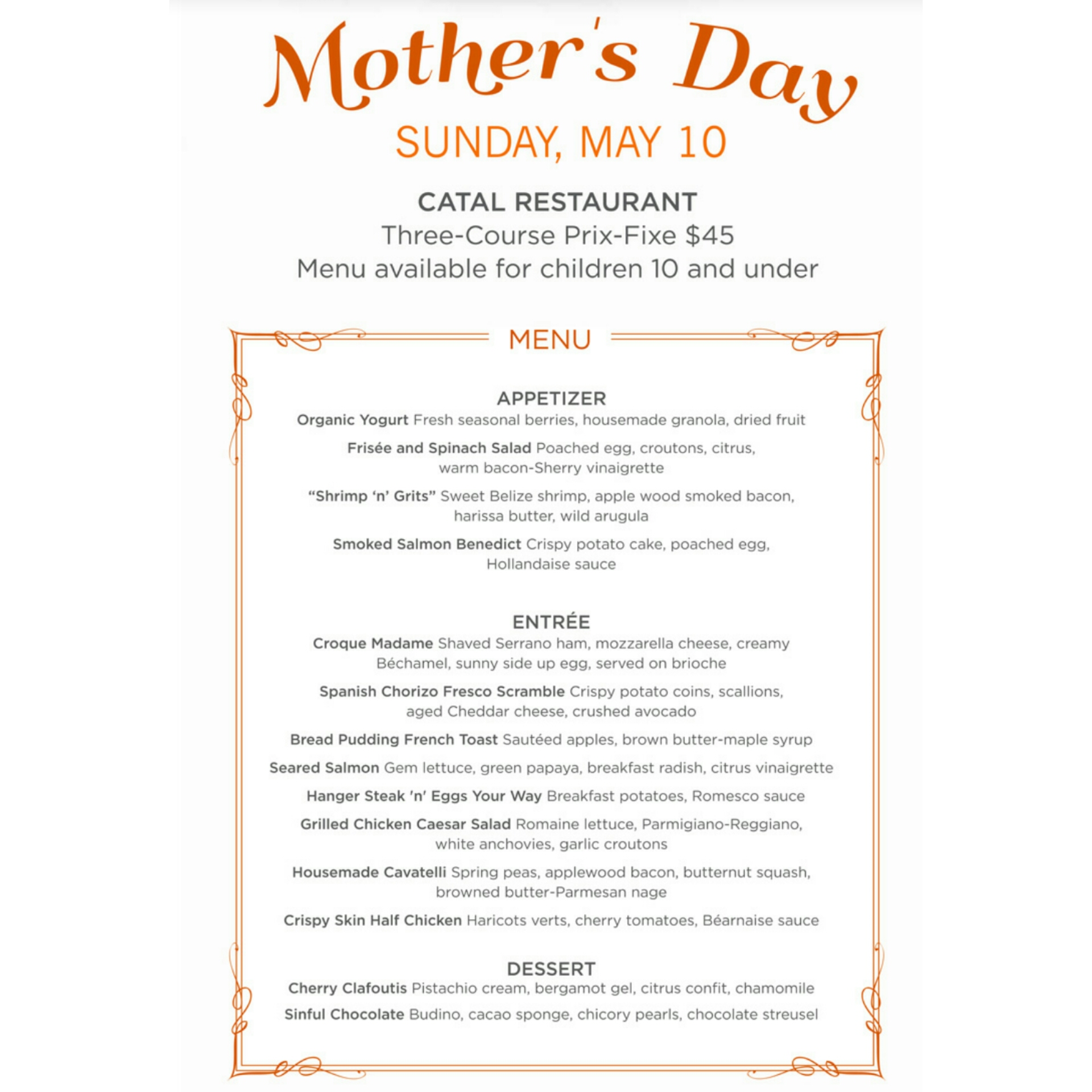 Mothers Day Dining Deals And Gift Ideas 2015 Danis Decadent Deals