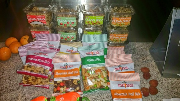 Melissa's Produce, LA Dodgers, healthy snack options
