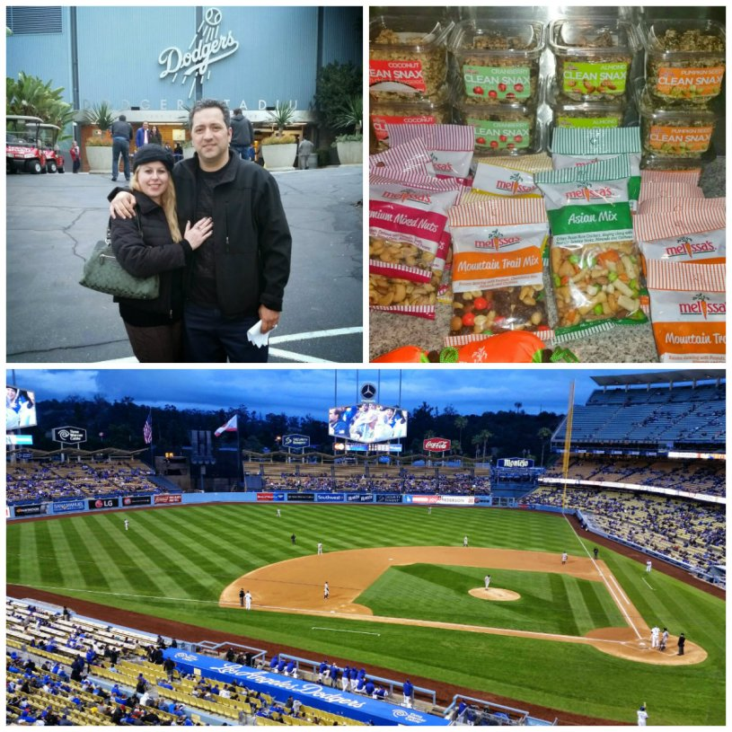 Melissa's Produce, LA Dodgers, healthy snack options