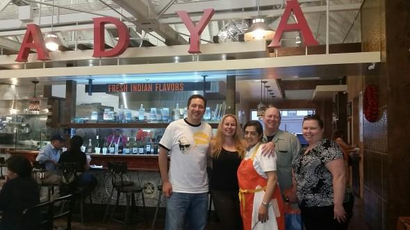 Adya Fresh Indian Cuisine, Anaheim Packing House