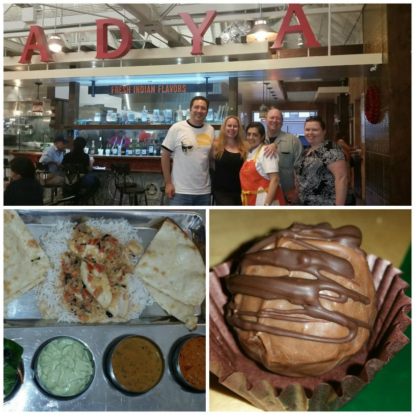 Adya Fresh Indian Cuisine, Anaheim Packing House