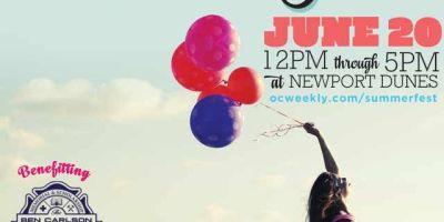 Summer Fest, OC Weekly, Newport Dunes