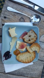 Cheese and Charcuterie Plate - Five Crowns - Corona Del Mar