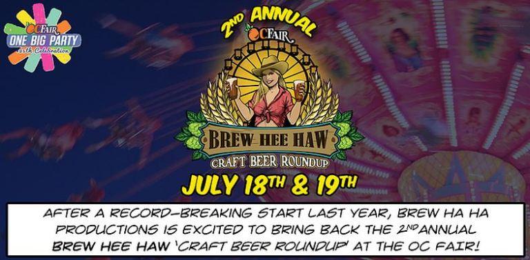 Brew Hee Haw Craft Beer Roundup, OC Fair