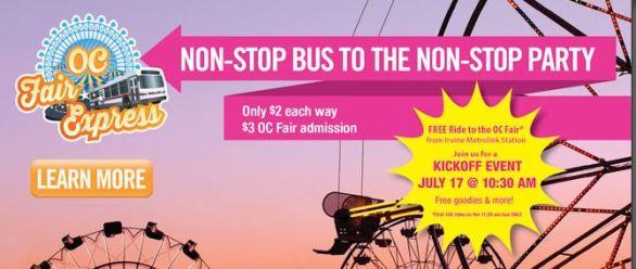 Metrolink Deal for the OC Fair