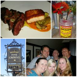 Five Crowns, Corona Del Mar, Summer Menu