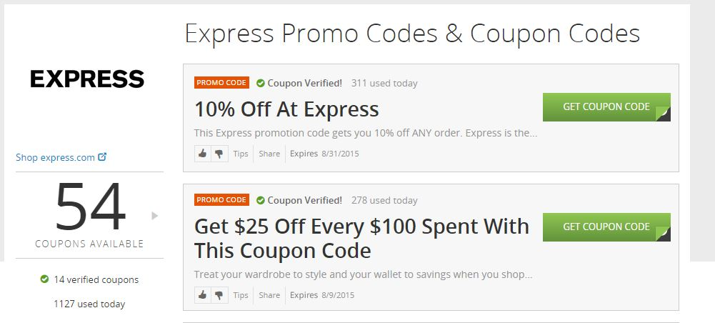 Gift express coupon code
