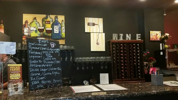 Pinot's Palette Tustin, art and wine, van gogh