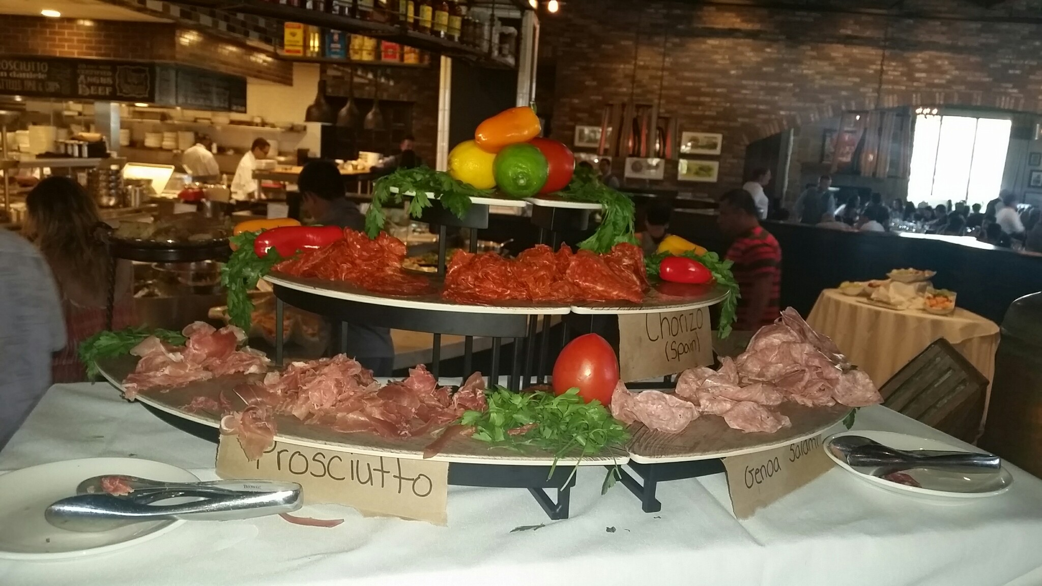 Charcuterie platter brunch at taps fish house and for Taps fish house irvine