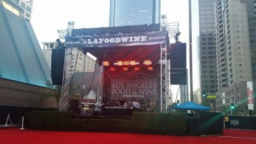 Los Angeles Food and Wine Festival, Walt Disney Concert Hall