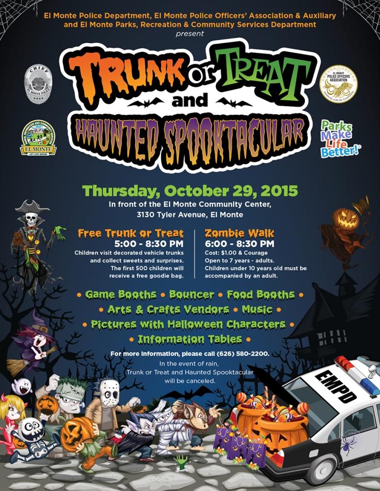 El Monte Halloween Event 2015