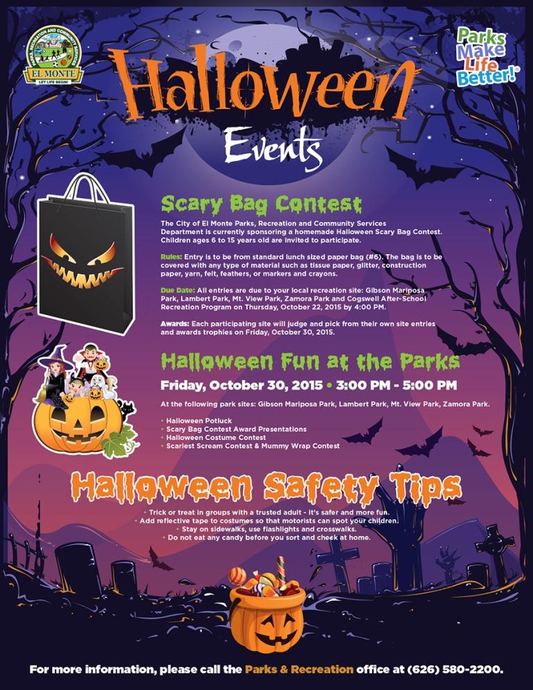 El Monte - Zamora Park - Halloween Event 2015
