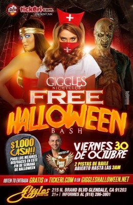 Halloween Party in Glendale 2015