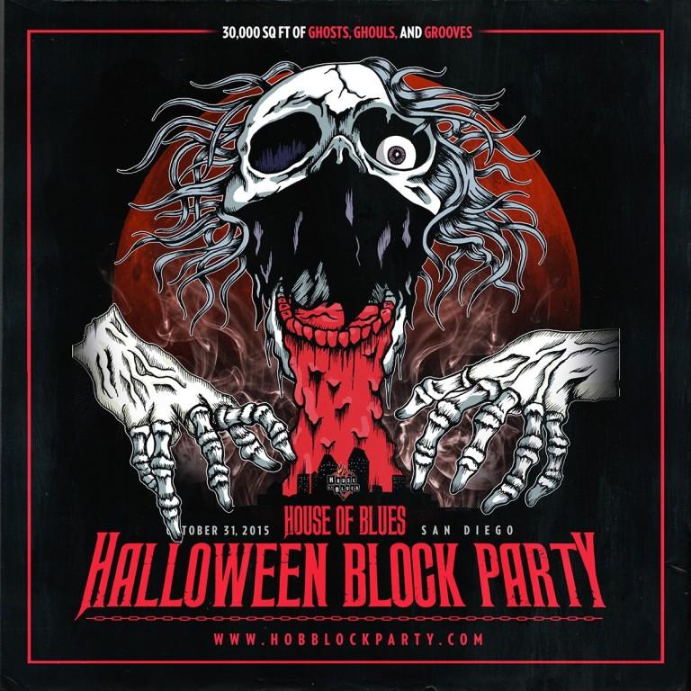 House of Blues Halloween - San Diego 2015