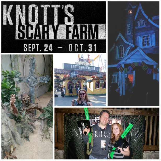 Knott's Scary Farm Halloween Event 2015