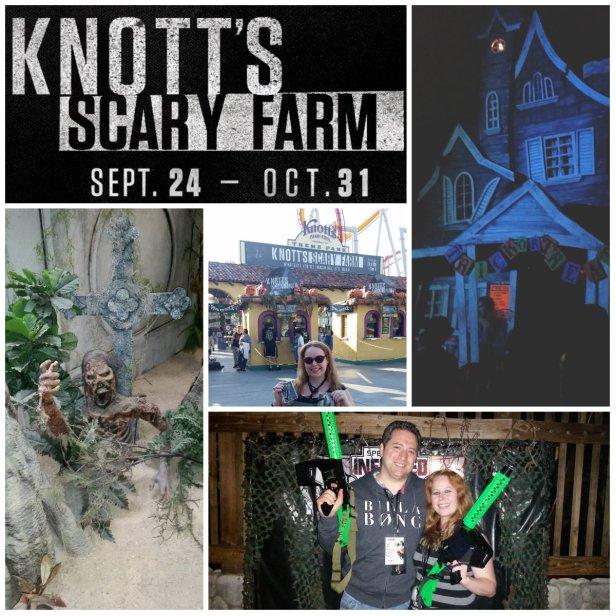 Knott's Scary Farm Halloween Event 2015