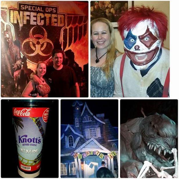 Knott's Scary Farm Halloween Fun 2015