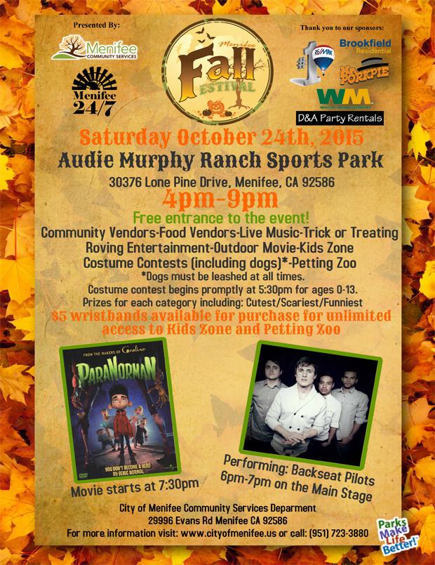 Menifee Halloween Event 2015