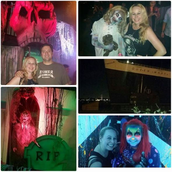 Queen Mary Dark Harbor Halloween Fun 2015