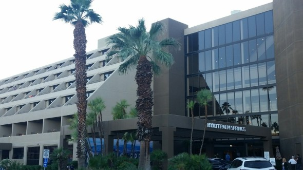 Hyatt Palm Springs Hotel from street view