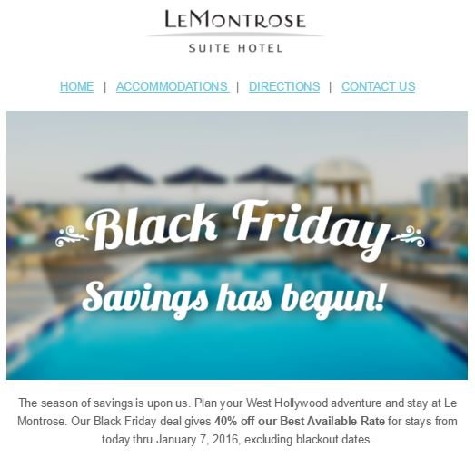 Black Friday Deals and Steals 2015