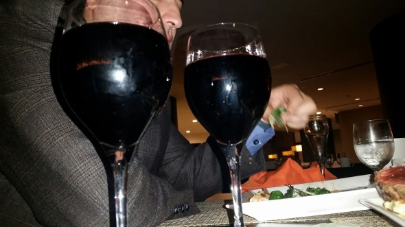 Red wine - Share restaurant - Hyatt Palm Springs