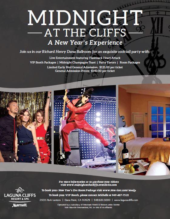 New Year's Eve, Laguna Cliffs Marriott, Flashback Heart Attack