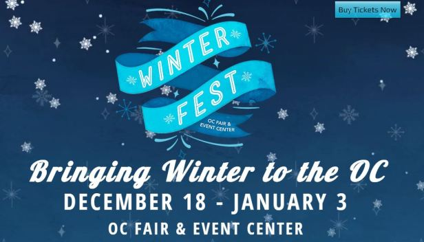 Winter fest, oc fair, costa mesa, holiday events