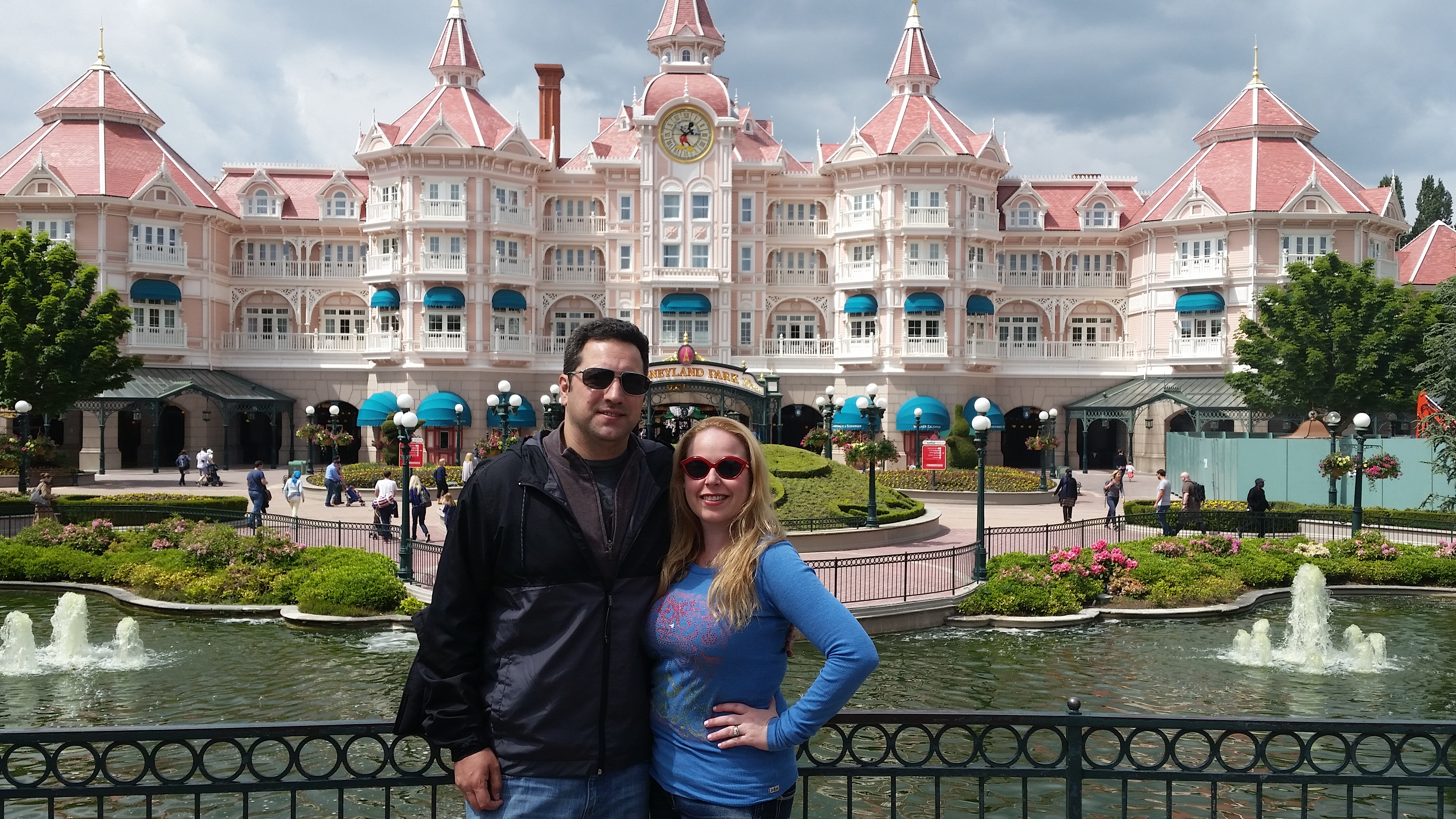 My Love And I Outside Of Disneyland Paris Hotel