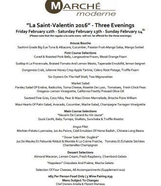 Valentine's Day Dining 2016, orange county, valentine's day