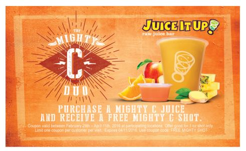 Juice It Up, smoothies, contest, giveaway