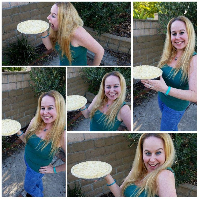coconut banana cream pie, melissa's produce, coconut heart