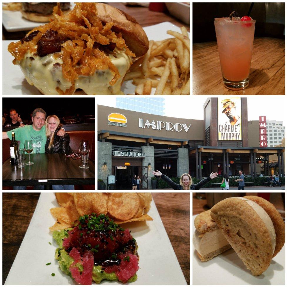umami burger, irvine spectrum, irvine improv