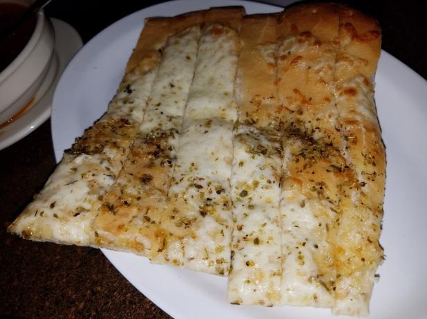 Mozarella Cheese Sticks - Carolina's Italian Restaurant, Anaheim