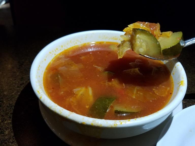 Vegetable soup - Carolina's Italian Restaurant, Anaheim