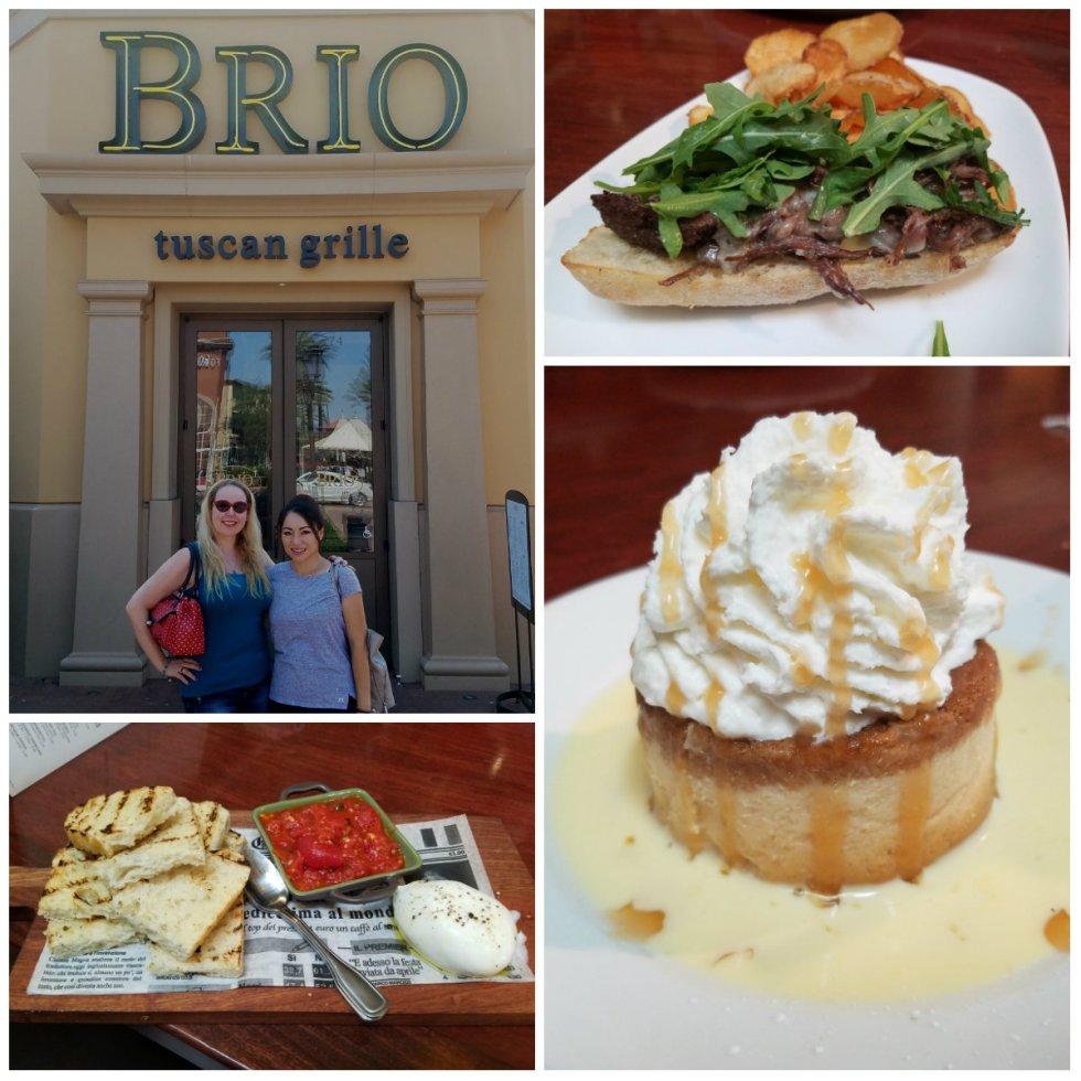 brio tuscan grill, italian food, irvine spectrum, new menu