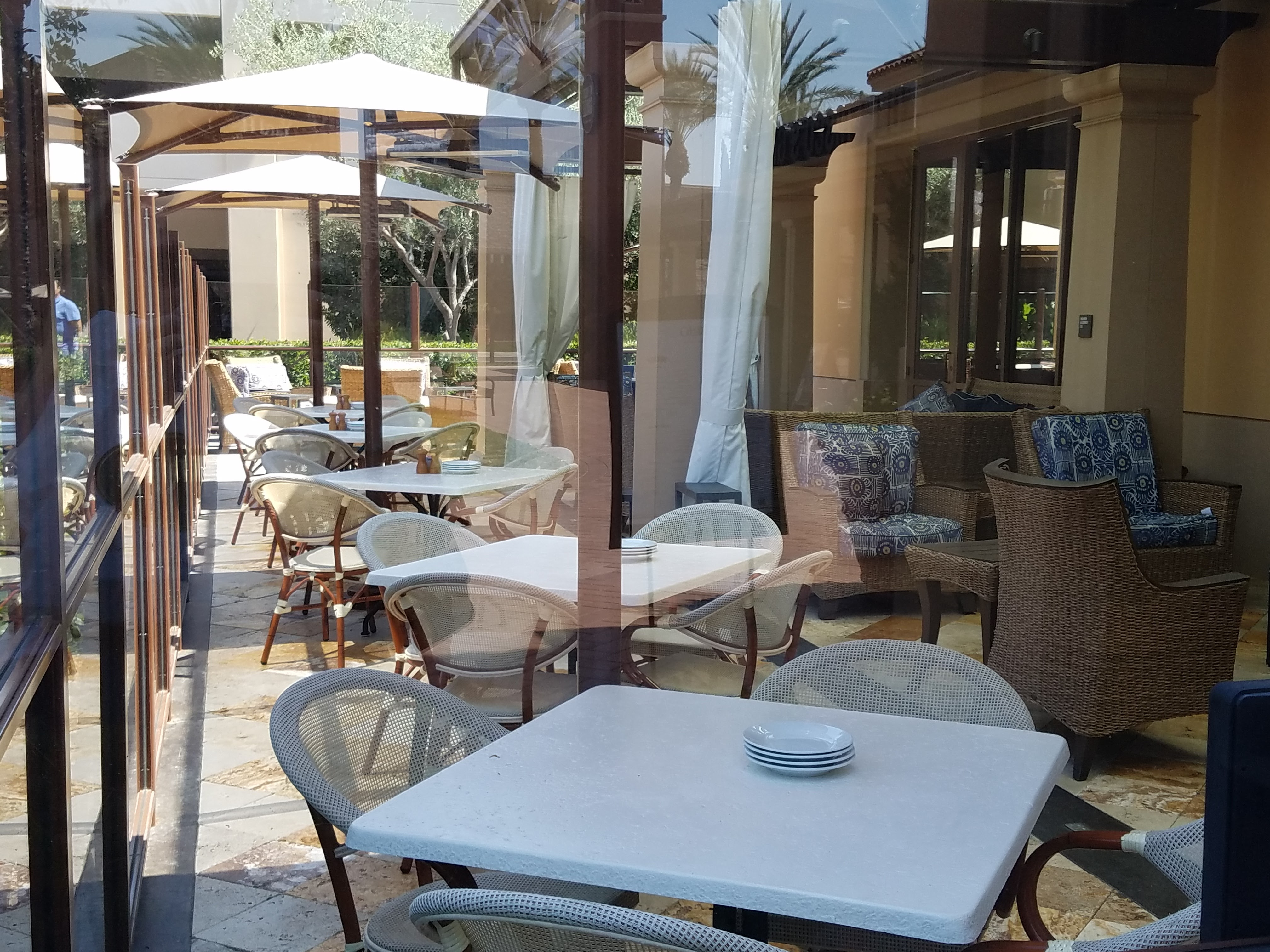 e of the outdoor dining patios – Brio Tuscan Grille – Irvine