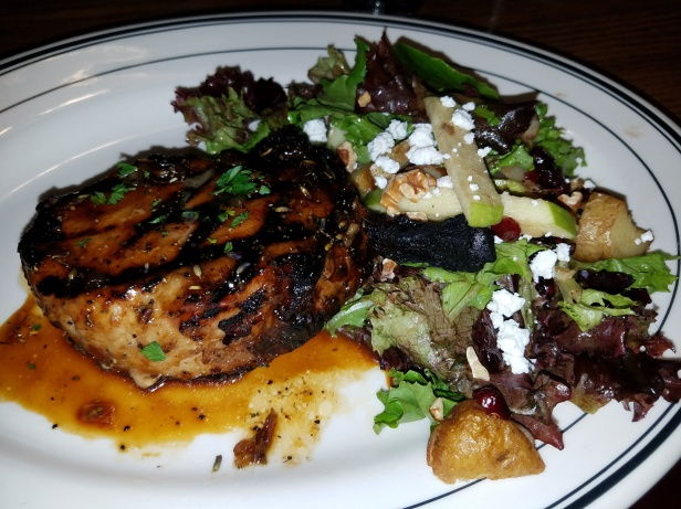 mimi's cafe, honey lavender pork chop, french cuisine