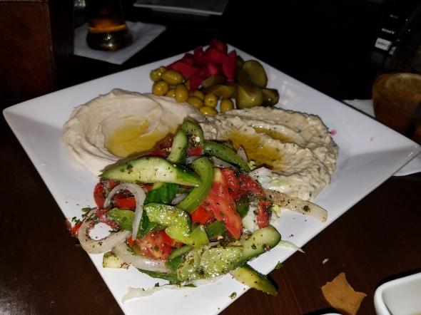 D'vine mediterranean, Mediterranean food, downtown fullerton