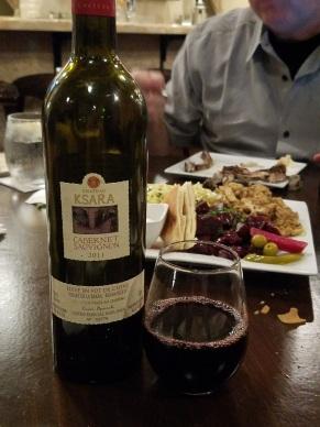 Lebanese red wine Chateau Casara Cabernet Sauvignon 2011 - D'Vine Mediterranean