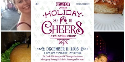 oc weekly, holiday party, holiday shopping, events